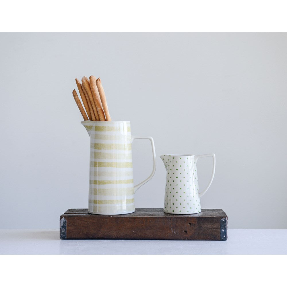 Stoneware Pitcher - Growing Days by Tamara Day
