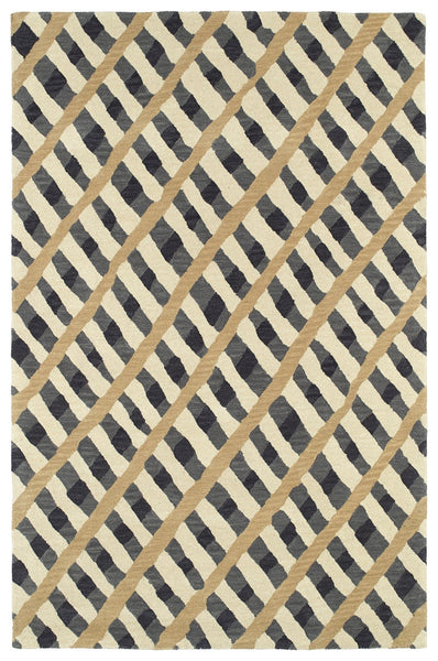 Rippled Velvet Hand - Tufted 100% Wool Rug