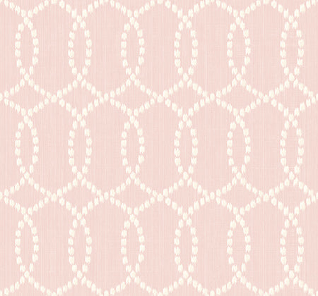 Chains of Pink - Wallpaper 9 Yard Bolt