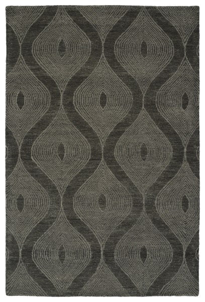 Grey Sunset - Hand Tufted 100% Wool Rug