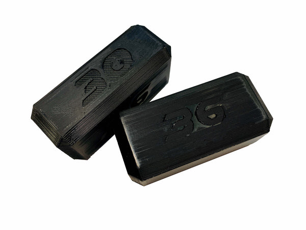 Hot Bodies 30mm / 36mm Droop Block (Pair) - RC Race Works