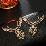 Bohemian Hollow Thunderbird Shape Drop Earring Women