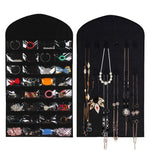 Hanging Jewelry Organizer. 32 Pockets and 18 Hook Loops