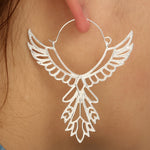 Bohemian Hollow Thunderbird Shape Drop Earring Women - Trinket Fascinations Jewelry
