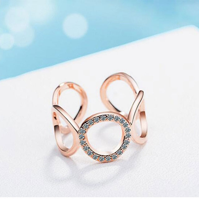 925 Sterling Silver Resizable Rings - Trinket Fascinations Jewelry