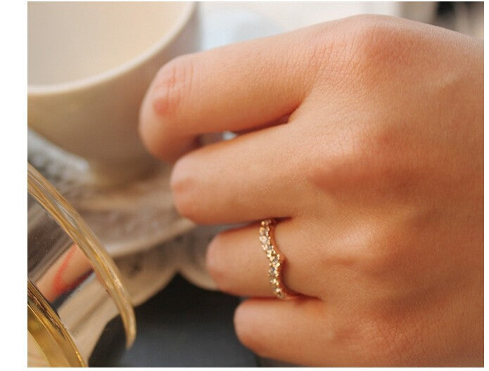 V-shaped design Simple Elegant Ring - Trinket Fascinations Jewelry