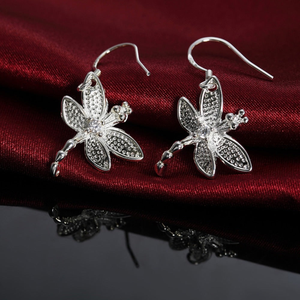 Dragonfly Jewellery Set - Trinket Fascinations Jewelry