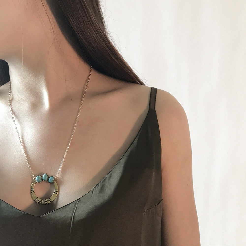 Bohemian Vintage Pendant Necklaces for Women - Trinket Fascinations Jewelry