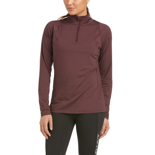Ariat Auburn 1/4 Zip Base Layer