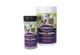 Companions Choice Prebiotic and Probiotic Supplement