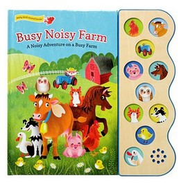 Busy Noisy Farm Deluxe Sound Book