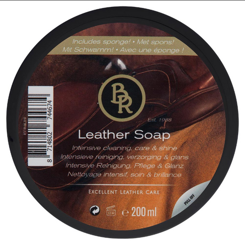 BR Leather Soap 200ml