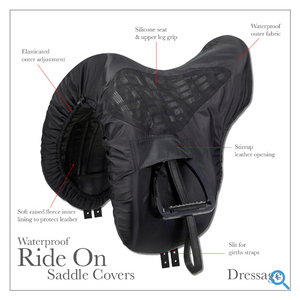Le Mieux ProKit Ride On GP Saddle Cover Black