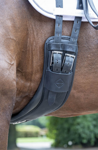 LeMieux Gel -Tek Anatomic Curve Dressage Girth