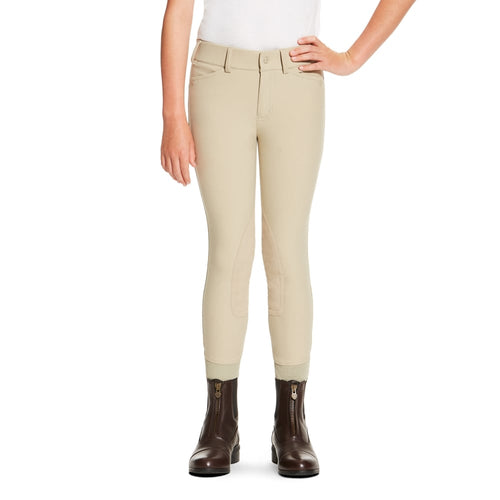Ariat Youth Heritage Elite Knee Patch Breeches