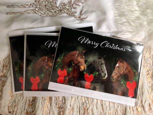 Christmas Cards by Island Horses