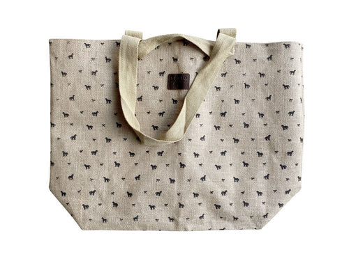 Spiced Equestrian Pony Print Carry-All Tote
