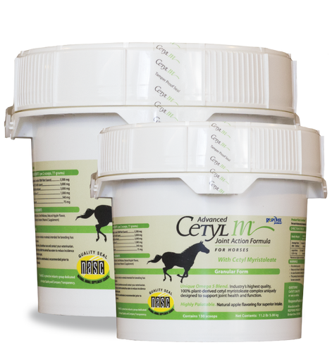 ADVANCED CETYL M® JOINT ACTION FORMULA FOR HORSES (GRANULAR FORM) 11.2LB