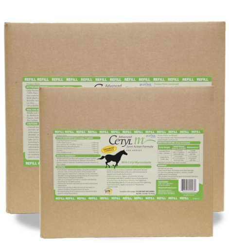 ADVANCED CETYL M® JOINT ACTION FORMULA FOR HORSES REFILL (GRANULAR FORM) 22.4LB