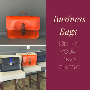 Design Your Own Business Bag | Deposit-Business bag-Leather Zulu