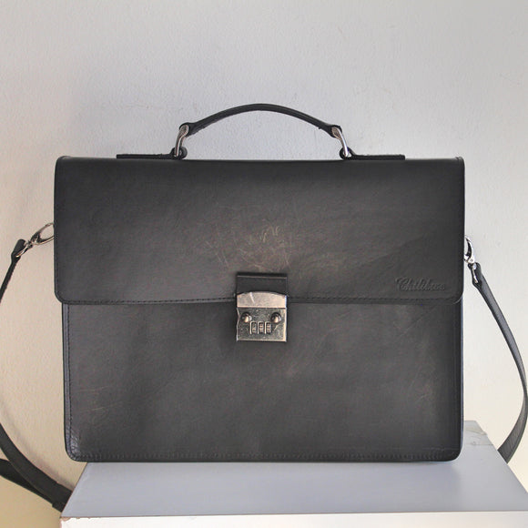 Chilibwe-Laptop bag-Leather Zulu