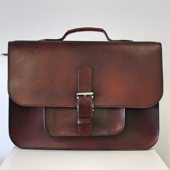 Joey-Briefcase-Leather Zulu
