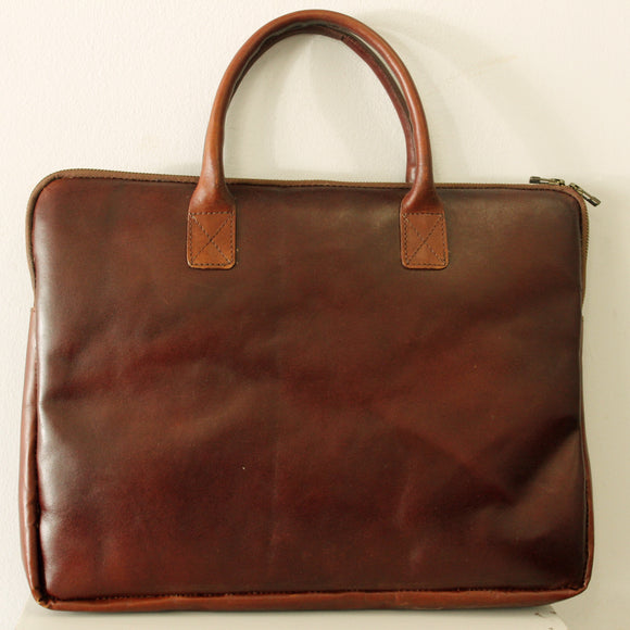 Kahimbaara-Laptop bag-Leather Zulu