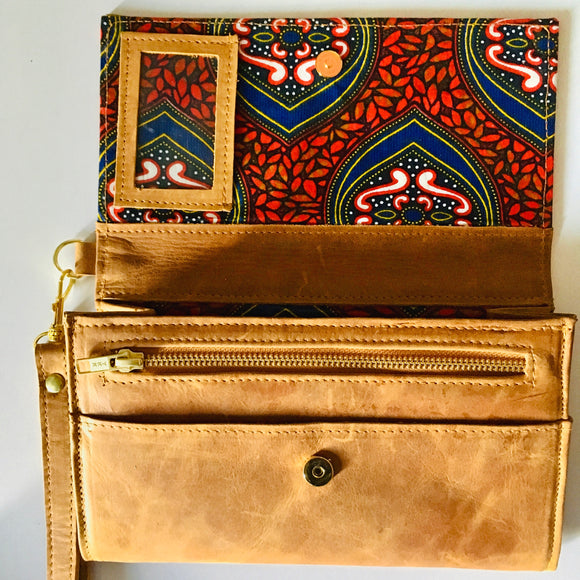 Maya-Purse-Leather Zulu