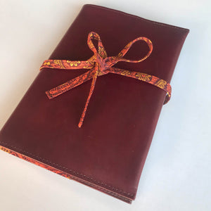 A5 Notebook or Diary Cover-Notebook cover-Leather Zulu