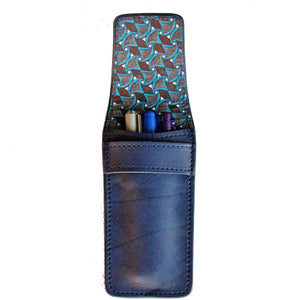 Pen Case-Bookmark-Leather Zulu