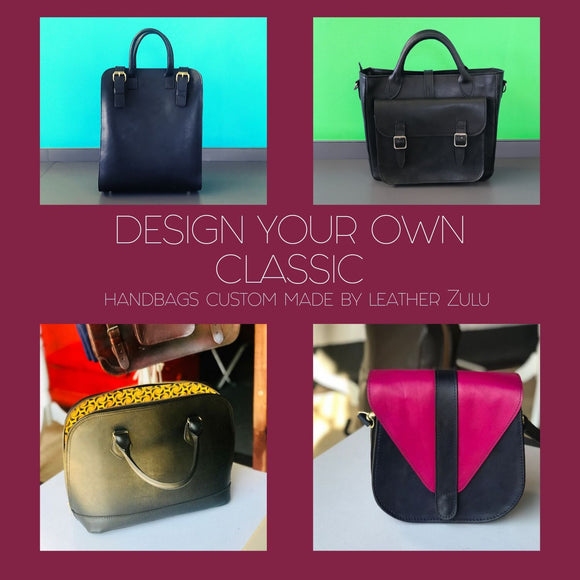 Design Your Own Handbag | Deposit-Handbags-Leather Zulu