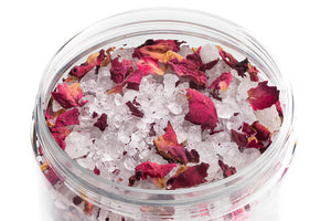 Rose Line - Bath Salt Magnesium & Rose Blossoms 300 ml