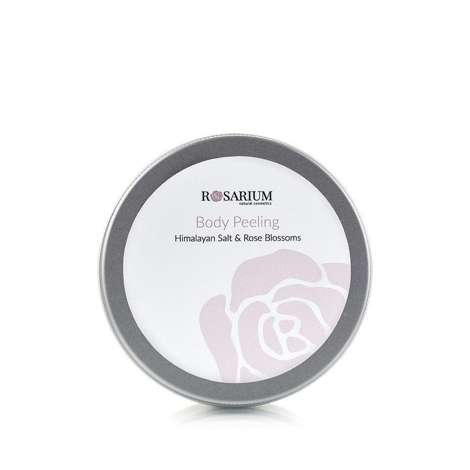 Rose Line - Body Peeling - Himalayan Salt & Rose Blossoms 150ml from ROSARIUM Natural Cosmetics