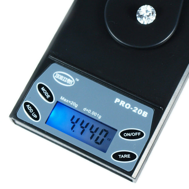 20g x 0.001g 1MG Digital Precision Scale Jewelry Gold Reload Horizon Pro-20B - Anyvolume.com