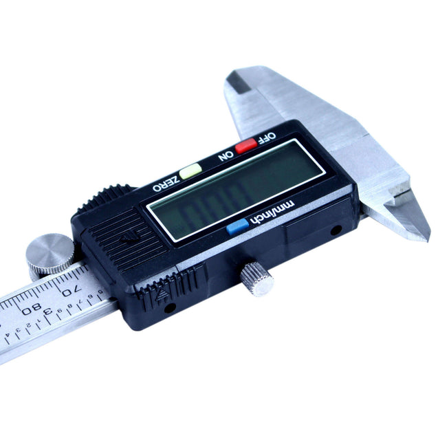 "6"" Digital Caliper  Stainless Steel Electronic Vernier Gauge Micrometer 0.01mm - Anyvolume.com"