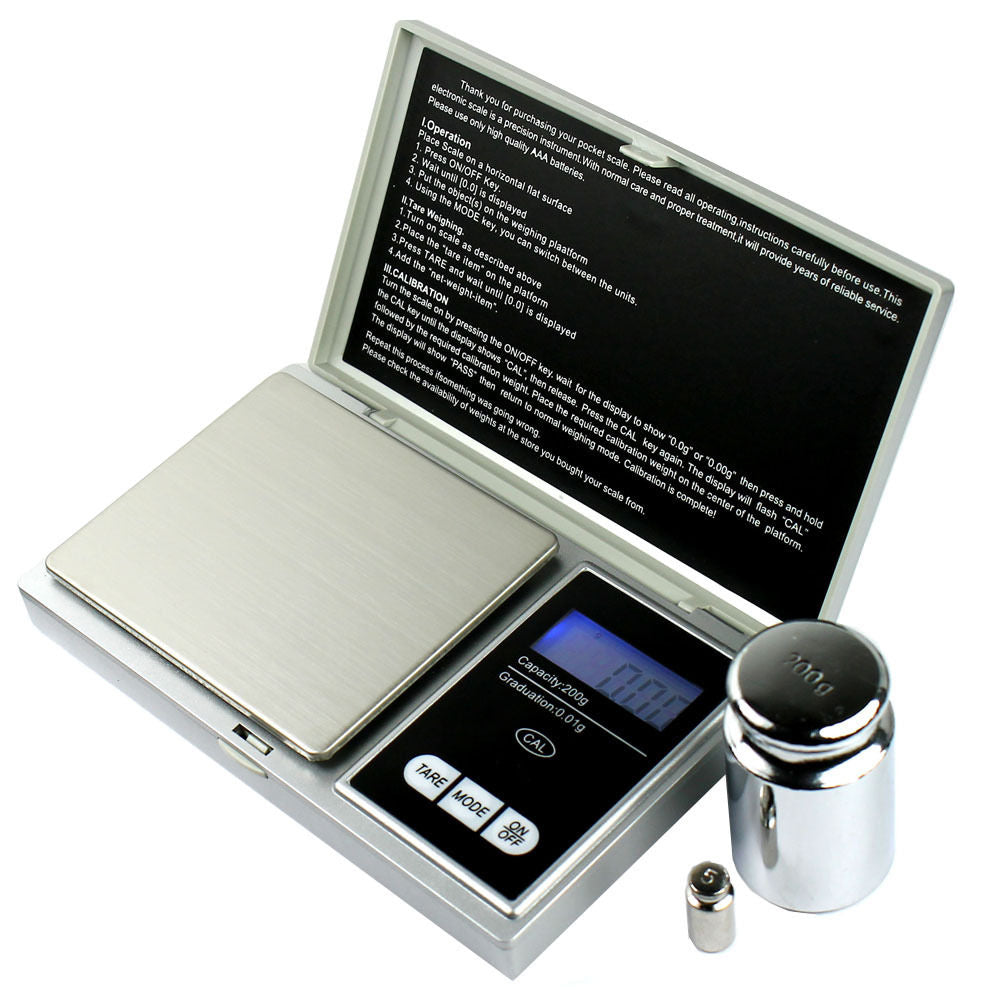 Scale Calibration Weights >> 200g X 0 01g Pocket Digital Scale Precision Jewelry Scale Calibration Weights
