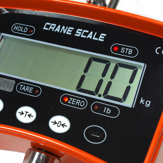 1000 KG / 2200 LBS Digital Crane Scale / Heavy Duty Hanging Scale High Quality - Anyvolume.com