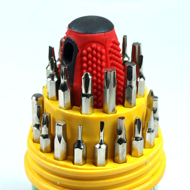 Precision Screwdriver set for watch Cell Phone Repair 30 Bits Torx Hex Philips - Anyvolume.com
