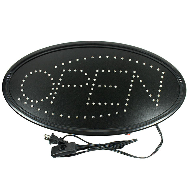 Animated Motion Running LED Business OPEN Sign +On/Off Switch / Bright Light - Anyvolume.com