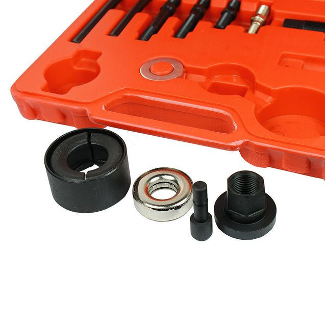Pulley Puller and Installer Power Steering Pump Remover Alternator - 13PC Kit - Anyvolume.com