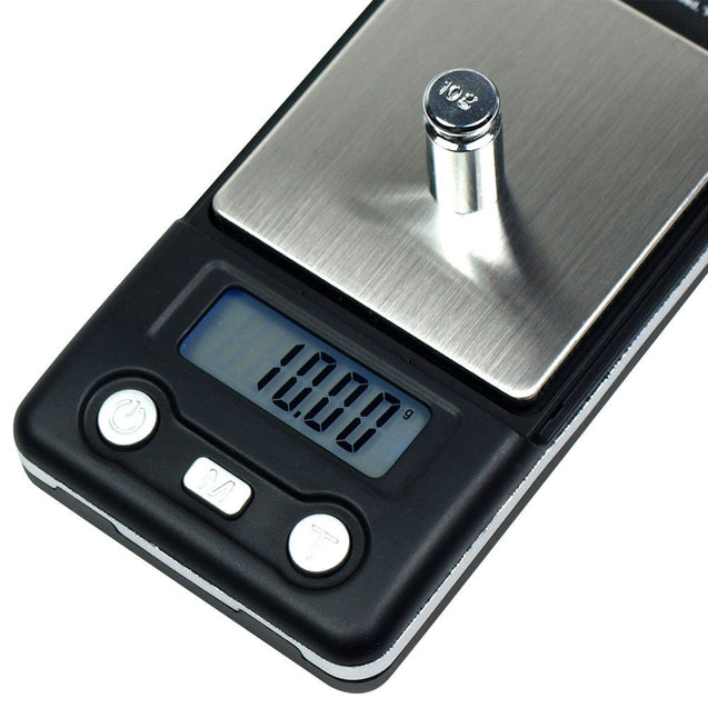 Horizon HB-01 100g x 0.01g Digital Pocket Jewelry Scale With Calibration Weights - Anyvolume.com