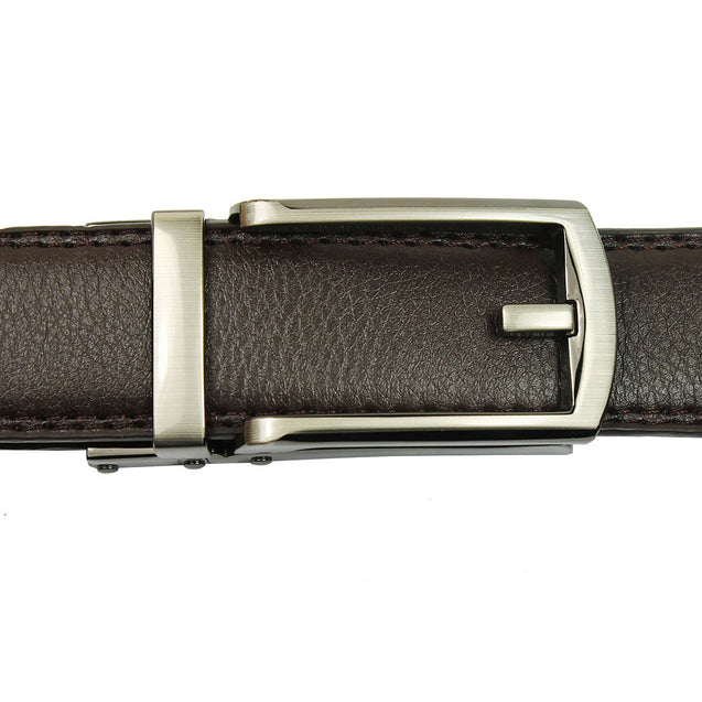 Comfort Click Belt for Men Black or Brown Adjustable Fashion Belt - Anyvolume.com