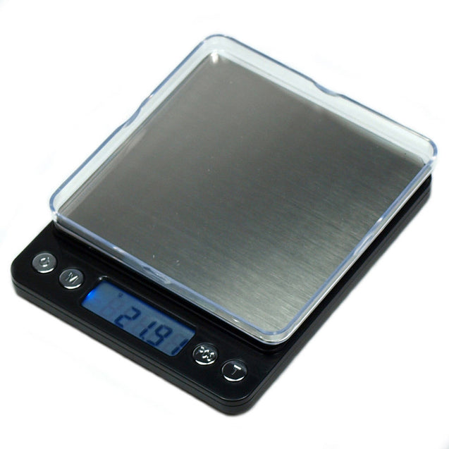 ACCT-500 500g x 0.01g Digital Scale Precision Weighing Counting Scale/Tray Black - Anyvolume.com