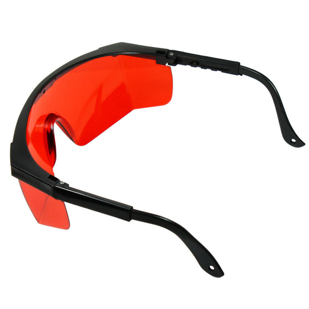 532nm Tinted Laser Safety Glasses Goggles - Protective Case + Cleaning Cloth - Anyvolume.com