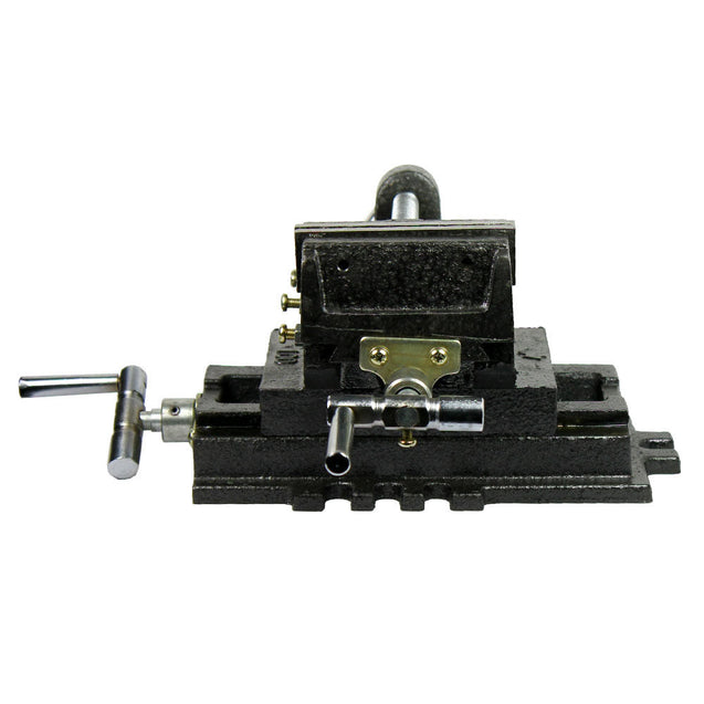 "Cross Slide Vise 4"" inch Wide Drill Press X - Y Clamp Milling Heavy Duty 2 Way - Anyvolume.com"