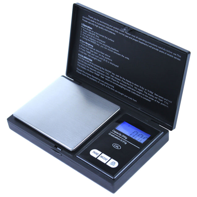 Clearance 100gx0.01g Precision Digital Pocket Scale for Gold Jewelry Reload - Anyvolume.com