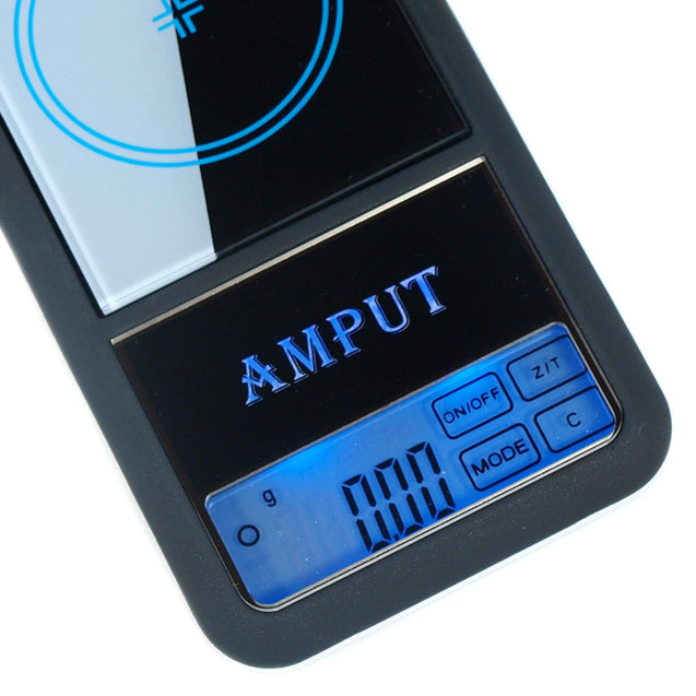 AMPUT 0.01g x 200g Precision Digital Pocket Scale with Touch Screen LCD Display - Anyvolume.com