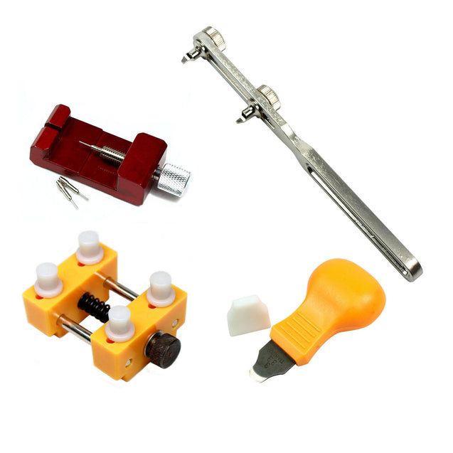 Watch Repair tool Kit - Case Opener Case Holder Link Pin Remover Case Knife - Anyvolume.com