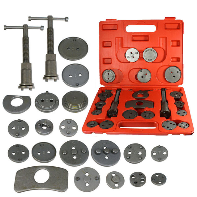 Universal 21 PCS New Brake Caliper Piston Disc Rewind Back Tool Set Pads Pro - Anyvolume.com