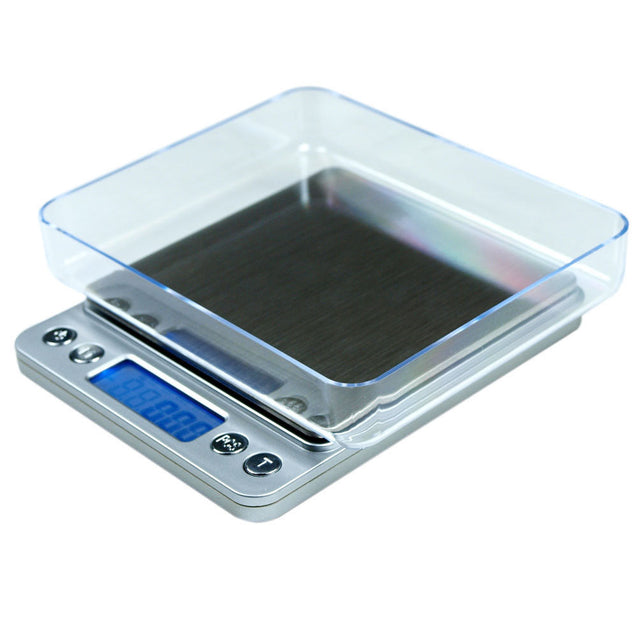 Precision Jewelry Electronic Digital Balance Weight Pocket Scale 2000g x 0.1g - Anyvolume.com